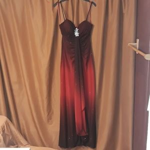 Reign On Dresses - Reign On Formal Dress in Sparkling Black and Red